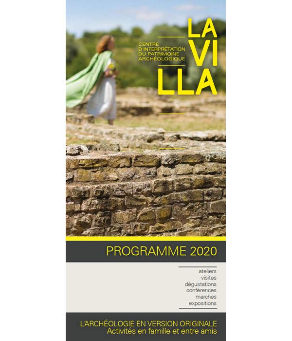 Programme 2020 des animations proposées au CIP La Villa, musée d'archéologie de Dehlingen
